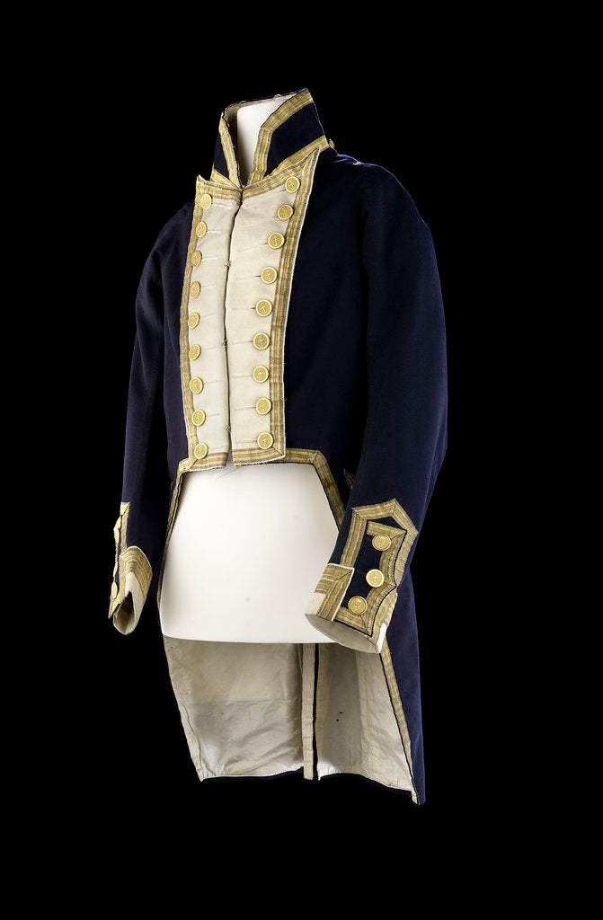 Detail of Royal Naval uniform: pattern 1812 by M.S. & Co.