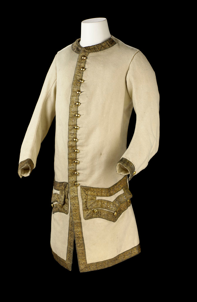 Royal Naval uniform: pattern 1748-1767 by unknown