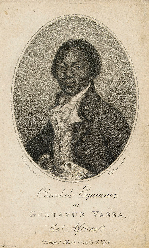 Detail of Olaudah Equiano or Gustavus Vassa the African by Daniel Orme