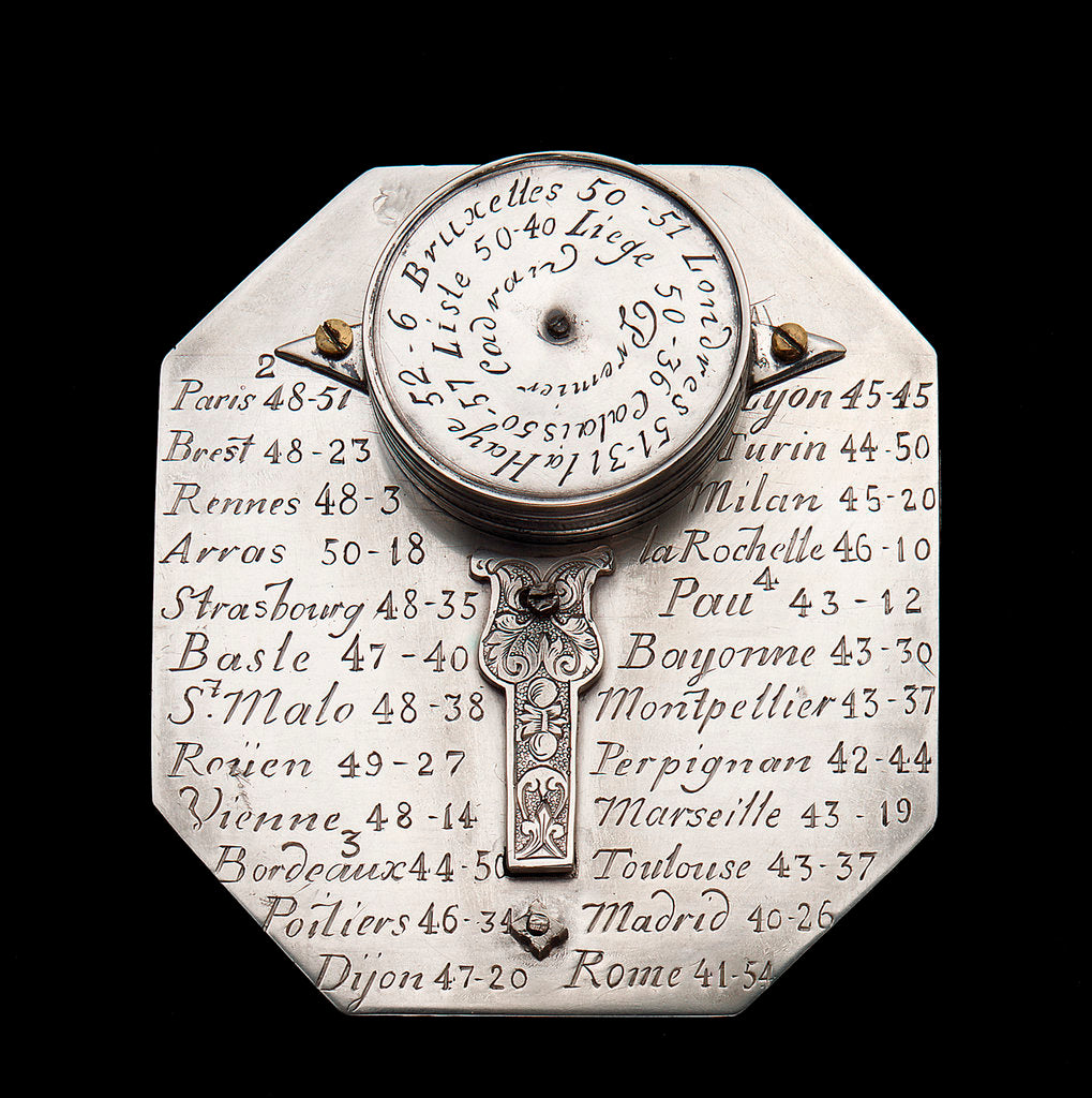 Butterfield dial by Michael Butterfield