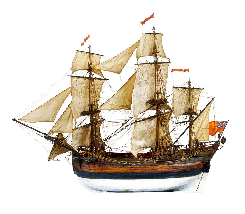 Detail of Merchant Ship by unknown