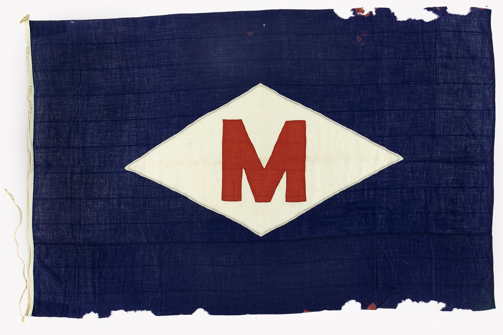 Detail of House flag, H. E. Moss & Co. by unknown