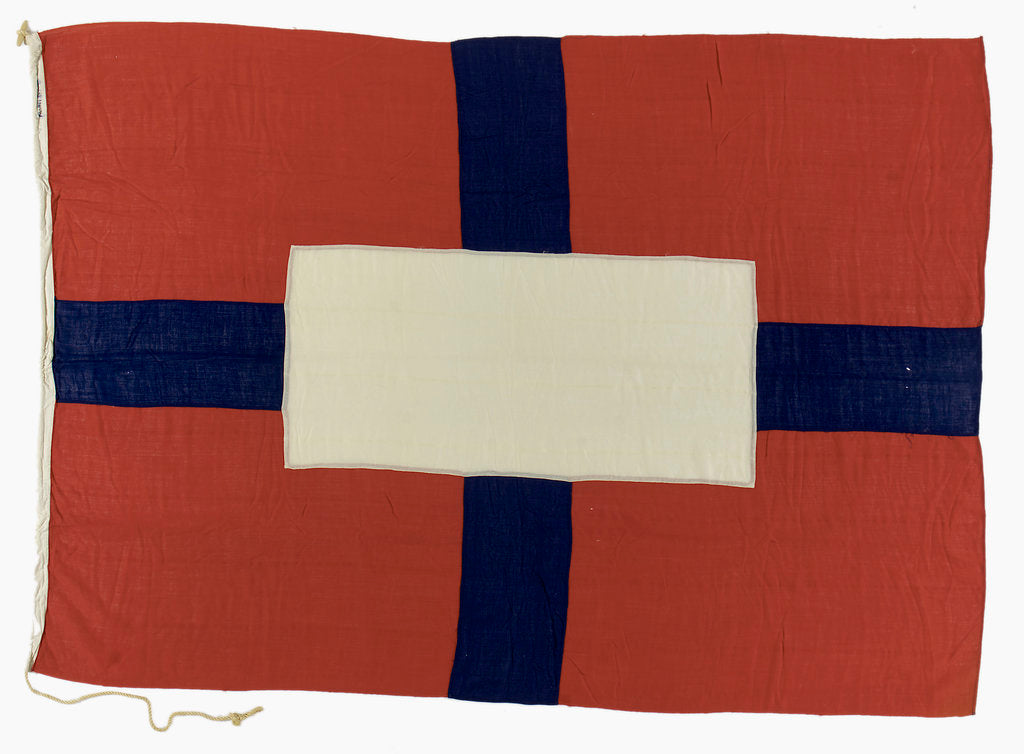 Detail of House flag, W. France, Fenwick & Co. Ltd by unknown