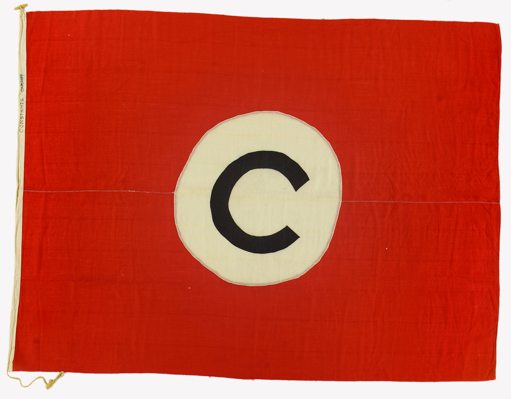 Detail of House flag, Constants Ltd by unknown