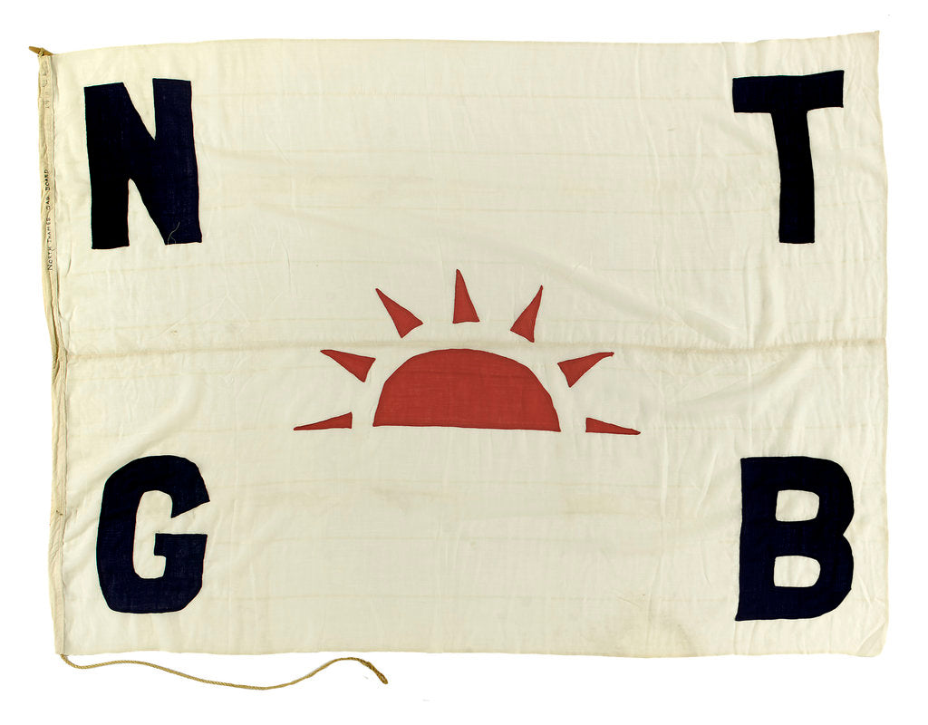 Detail of House flag, North Thames Gas Board by unknown