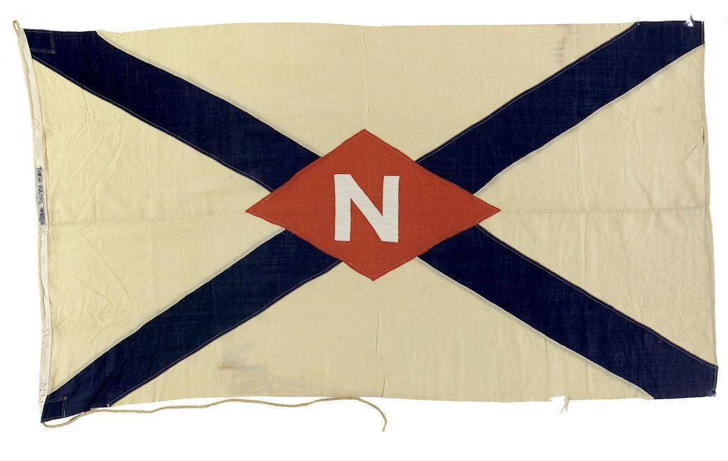 Detail of House flag, Nederland Lloyd by unknown
