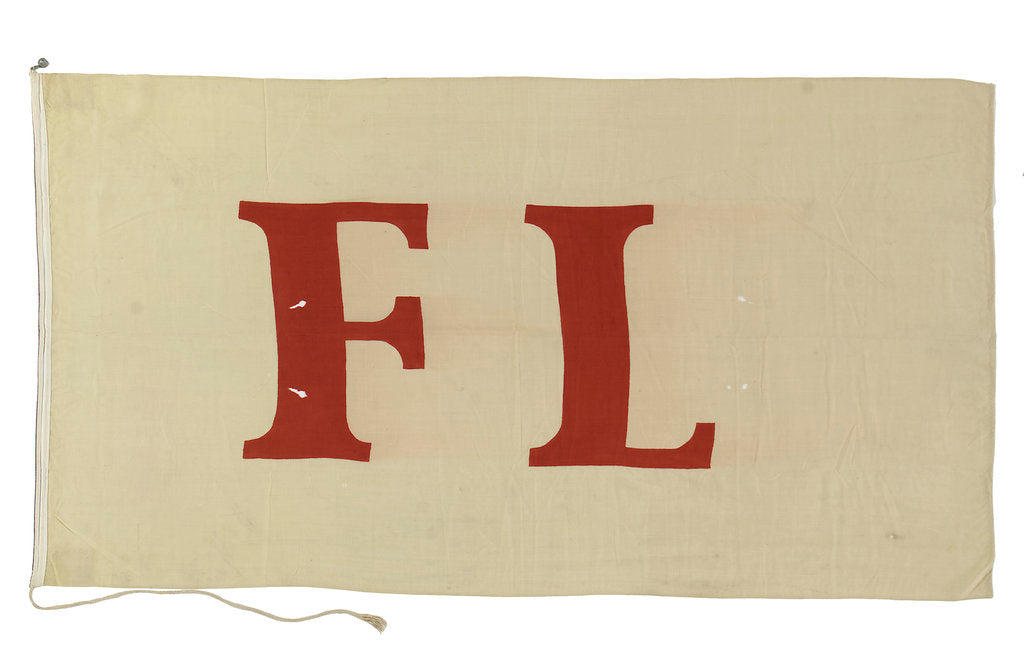 Detail of House flag, F. Laeisz & Co. by unknown