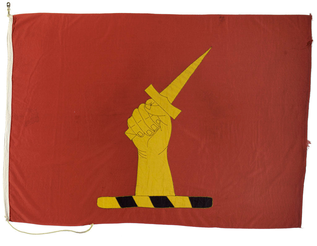 Detail of House flag, Bibby Line Brothers and Co. by unknown