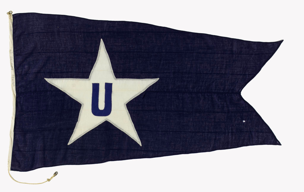 Detail of House flag, United Towing Ltd by unknown