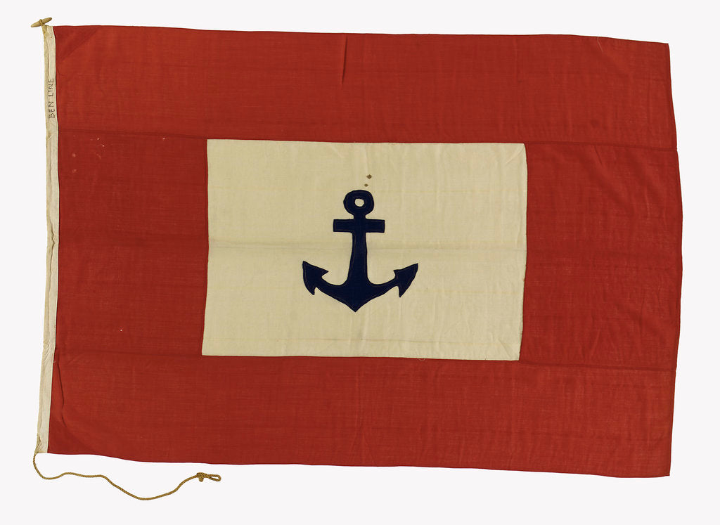 Detail of House flag, Ben Line by unknown