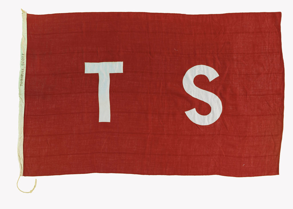 Detail of House flag, Turnbull Scott and Co. by unknown