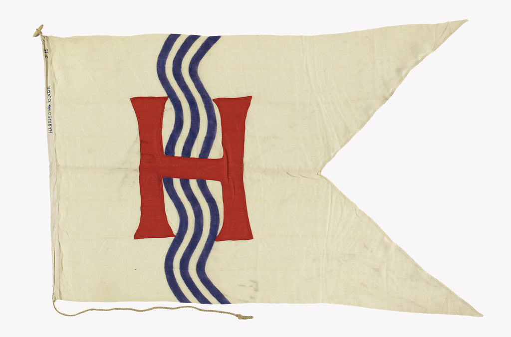 Detail of House flag, Harrisons (Clyde) Ltd by unknown