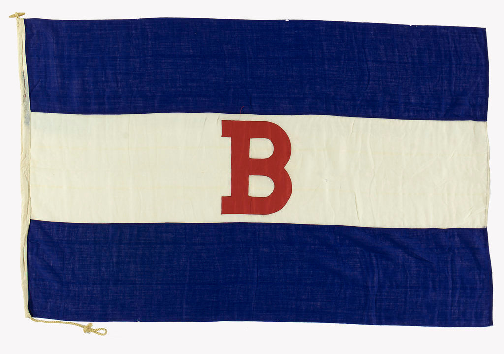 Detail of House flag, Booker Brothers McConnell and Co. by unknown