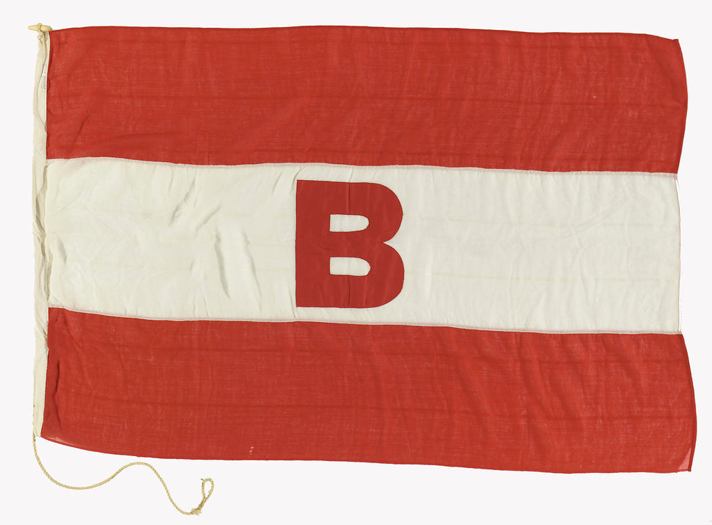 Detail of House flag, Boyd Line Ltd by unknown