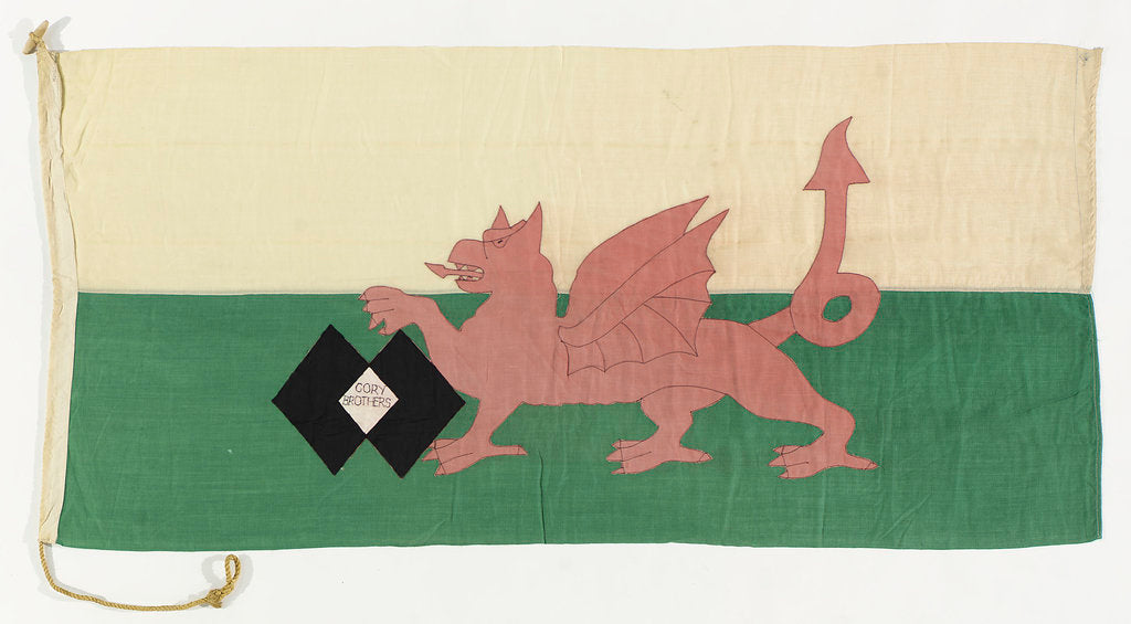Detail of House flag, Cory Brothers by unknown