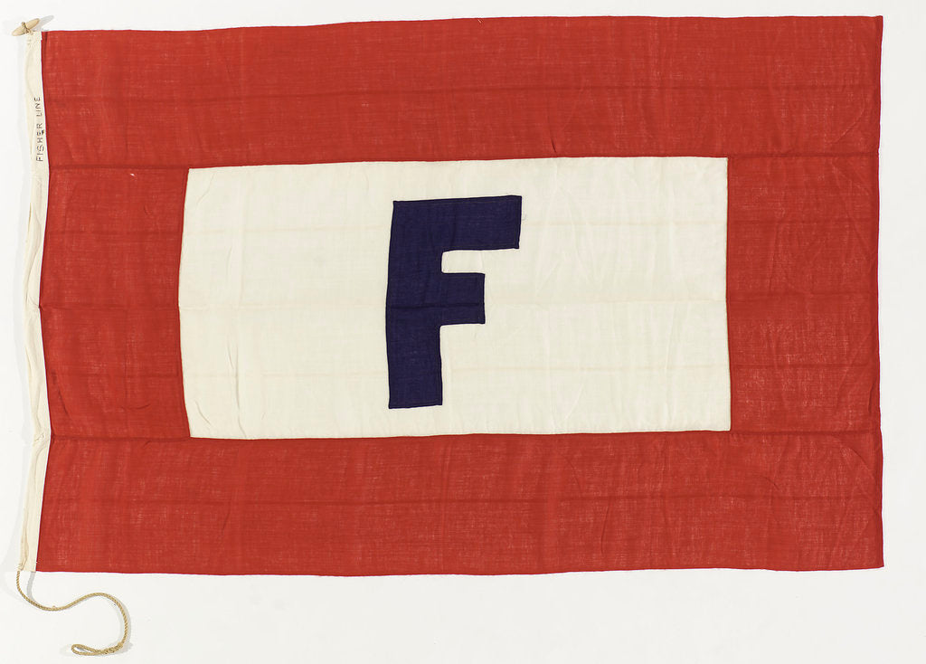 Detail of House flag, James Fisher & Sons by unknown