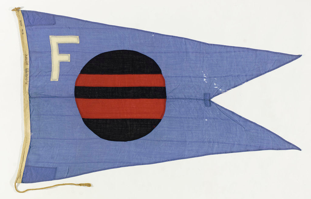 Detail of House flag, Furness Withy & Co. Ltd by unknown