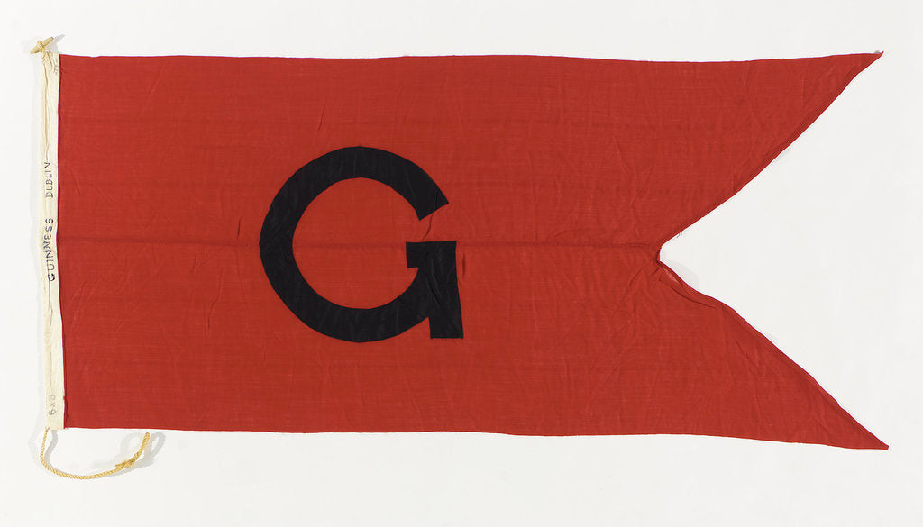 Detail of House flag, Guinness Co. by unknown
