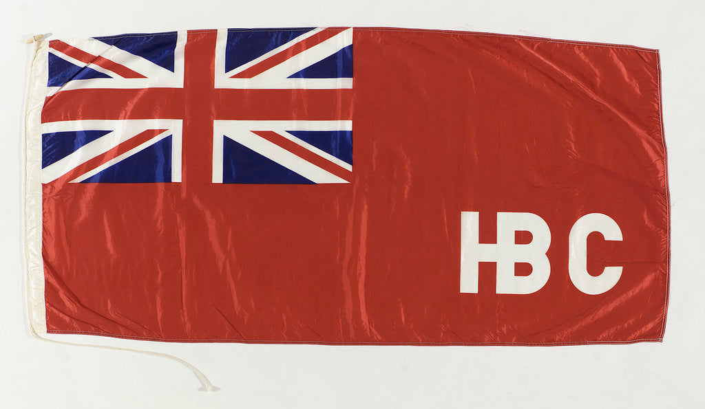 Detail of House flag, Hudson Bay Co. by J. J. Leckie Ltd.