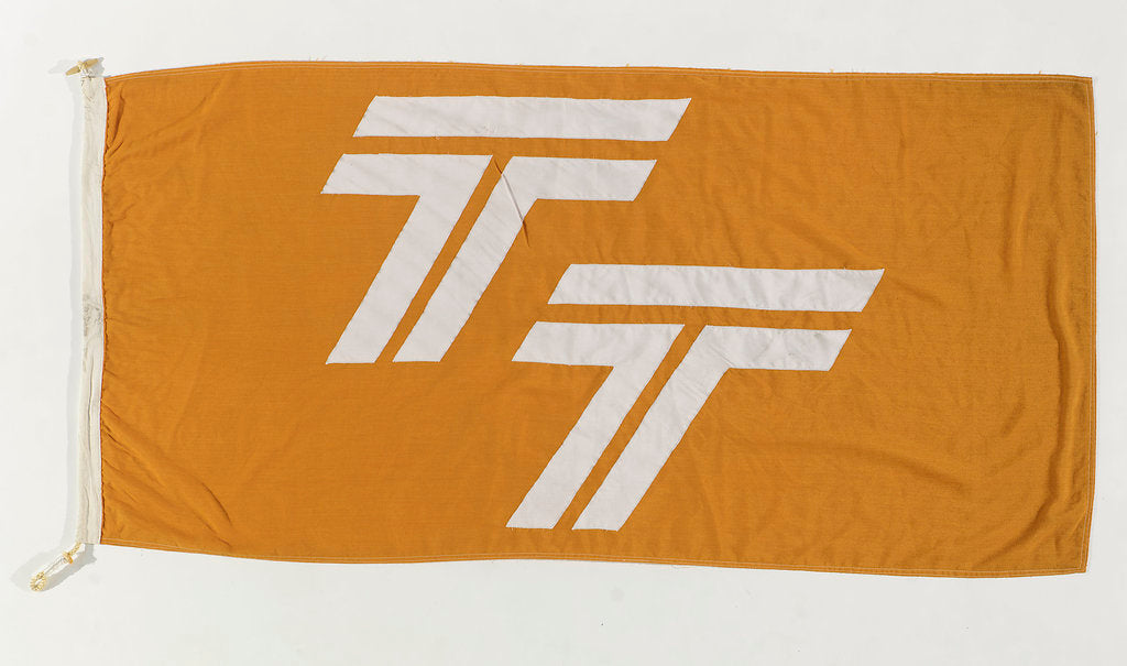 Detail of House flag, Townsend Thoresen Car Ferries Ltd by unknown