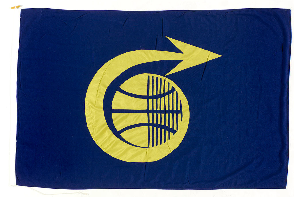 Detail of House flag, Cable and Wireless (Marine) Ltd by unknown