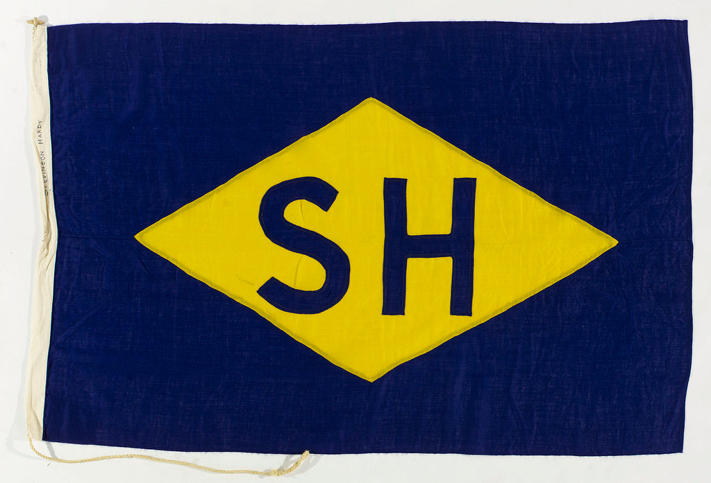 Detail of House flag, Stevinson-Hardy by unknown