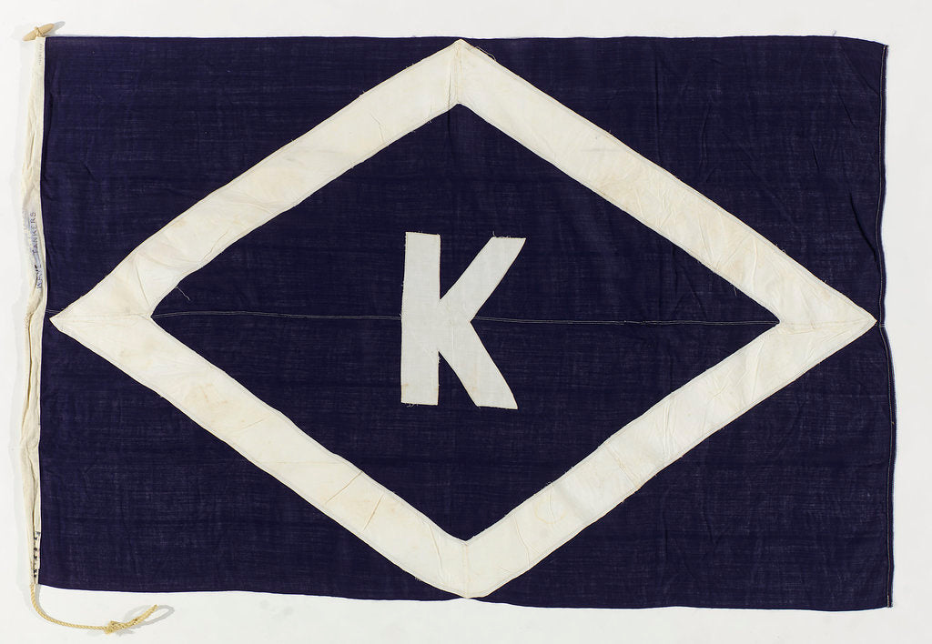 Detail of House flag, Kaye Son & Co. by unknown
