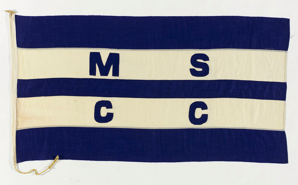 Detail of House flag, Manchester Ship Canal Co. Ltd by unknown