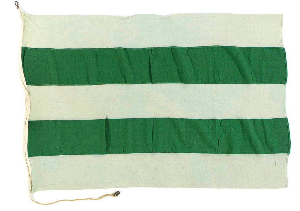 Detail of House flag, Mogul Line Ltd by unknown