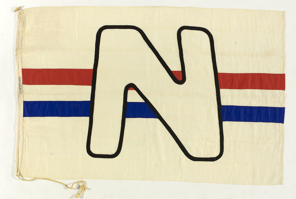 Detail of House flag, Niarchos Ltd by unknown