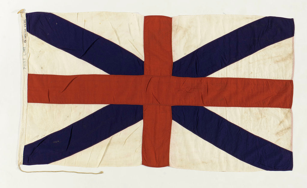 Detail of House flag, Port Line Ltd by unknown