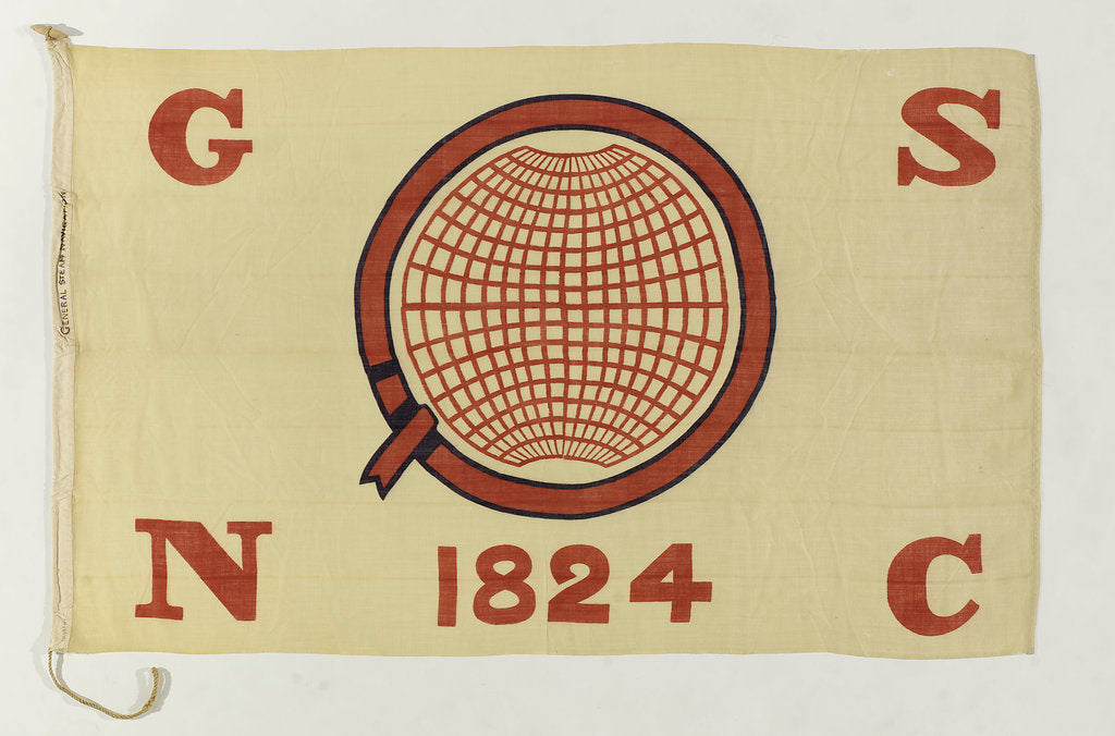 Detail of House flag, General Steam Navigation Co. Ltd by unknown