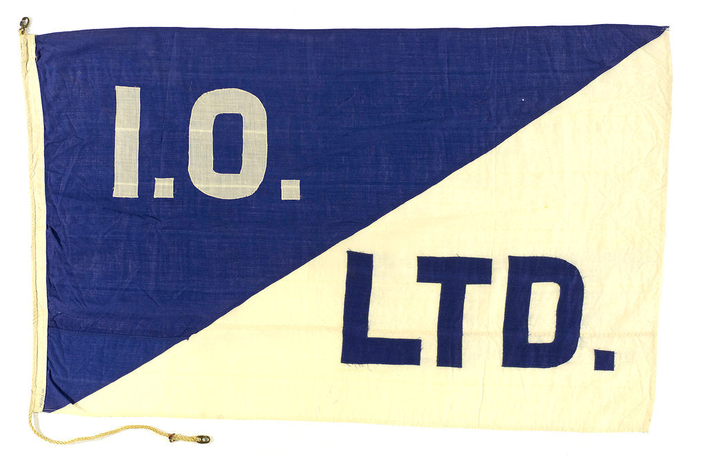 Detail of House flag, Imperial Oil Ltd by unknown