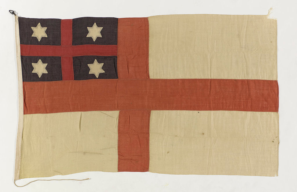 Detail of House flag, Shaw Savill and Albion Co. Ltd by unknown
