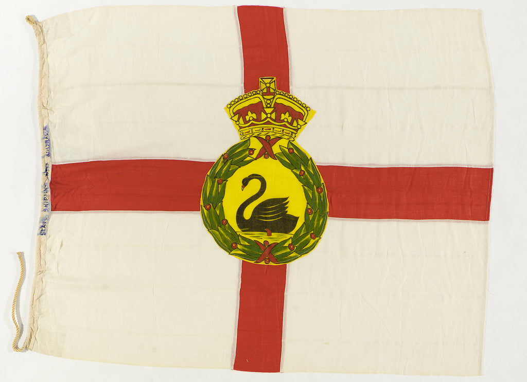 Detail of House flag, State Shipping by unknown