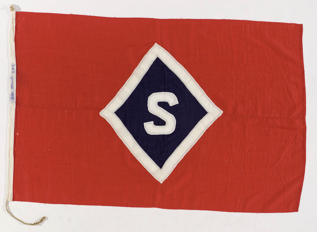 Detail of House flag, John Stewart & Co. by unknown