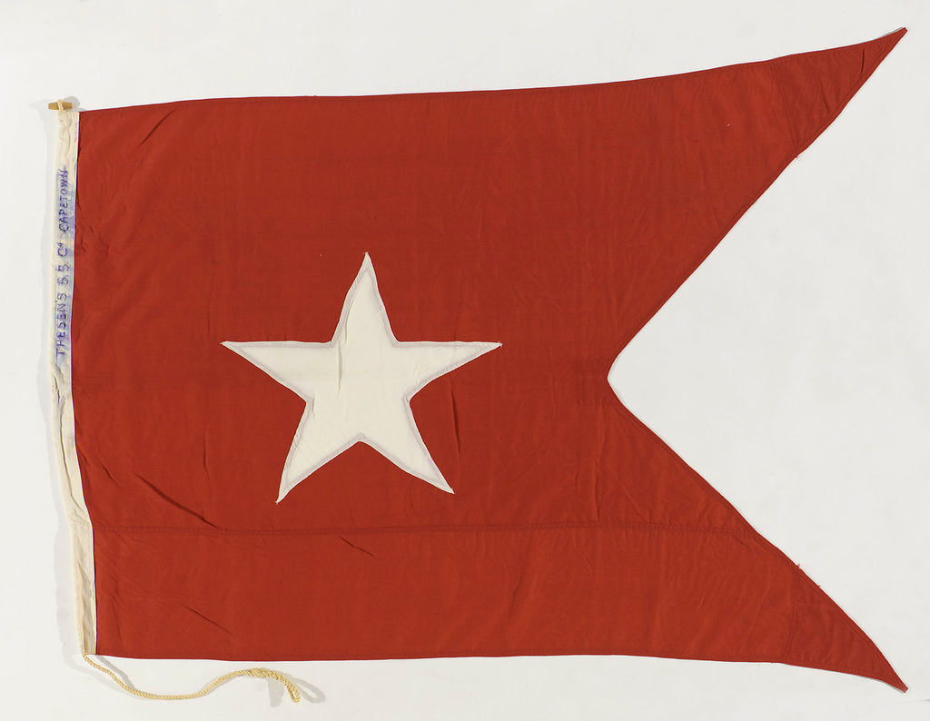 House flag, Thesen's Steam Ship Co. Ltd by unknown