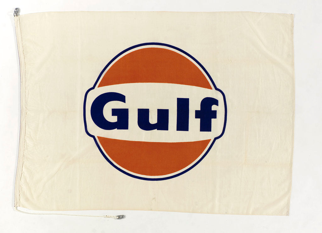 Detail of House flag, Gulf Oil Corporation by unknown