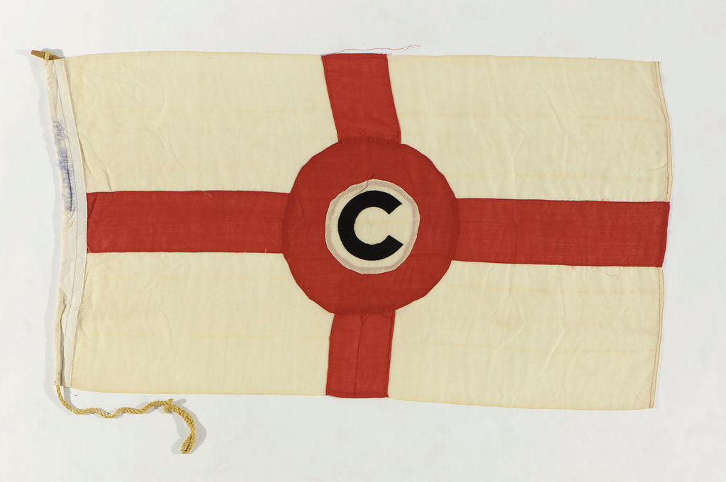 Detail of House flag, Constantine Lines by unknown