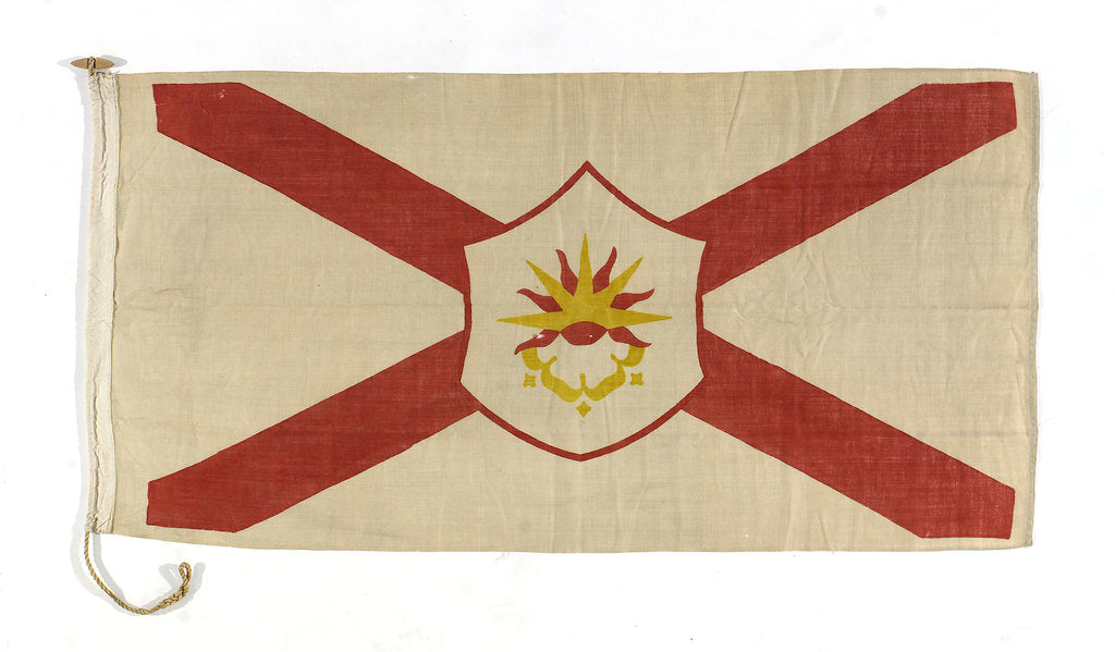 Detail of House flag, Saint Line Ltd (America) by unknown