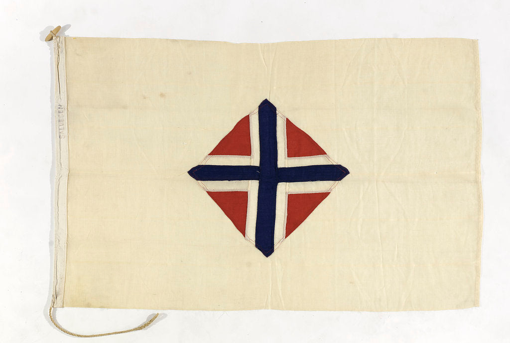 Detail of House flag, South Georgia Co. Ltd by unknown
