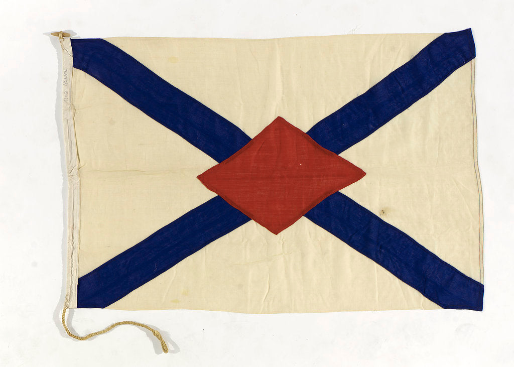 Detail of House flag, James Nourse Ltd by unknown