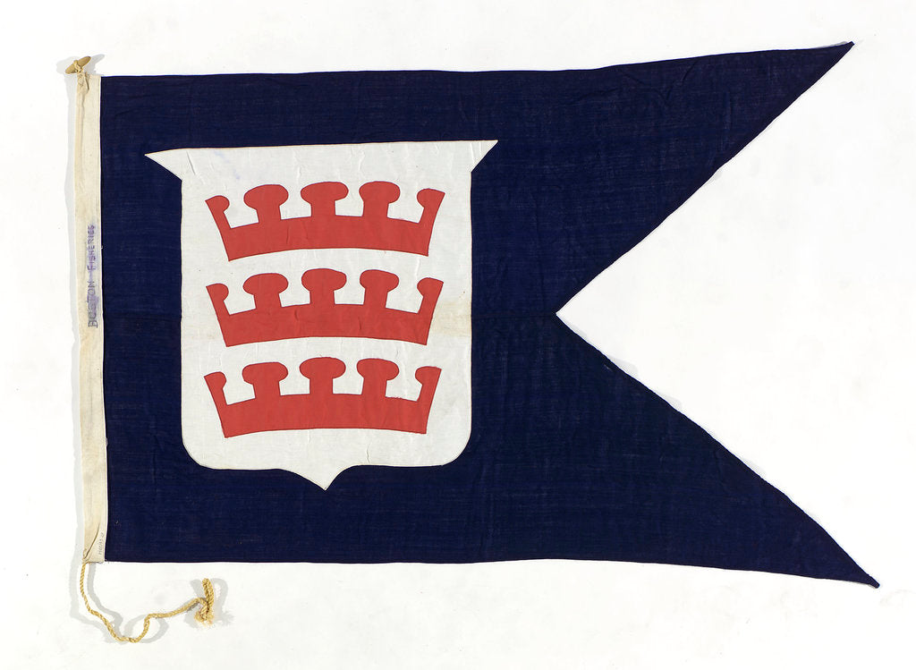 Detail of House flag, Boston Deep Sea Fishing and Ice Co. Ltd by unknown