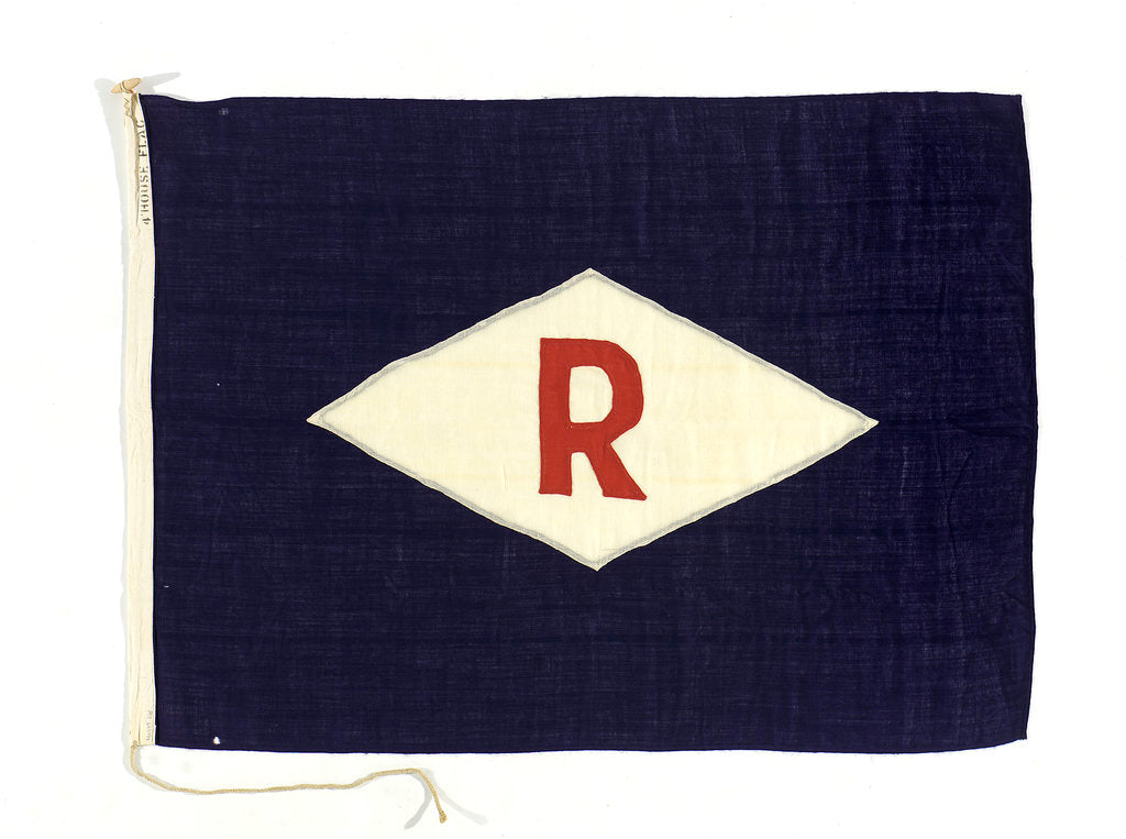 Detail of House flag, C. Rowbotham & Sons by unknown
