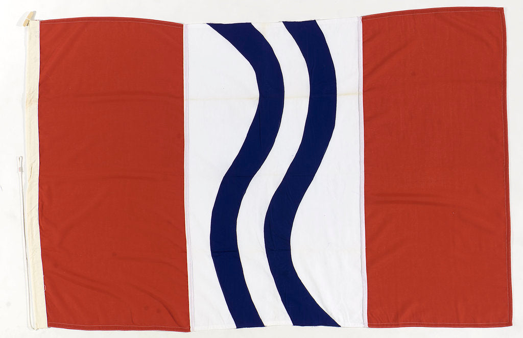 Detail of House flag, Stirling Shipping Co. Ltd by unknown