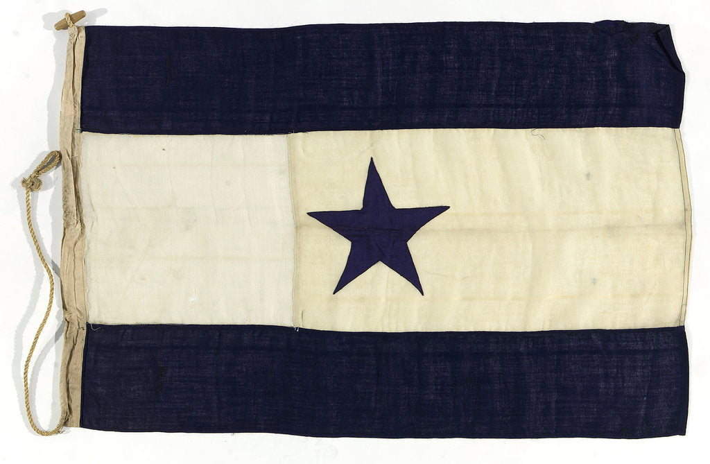 Detail of House flag, Asiatic Steam Navigation Co. Ltd by unknown
