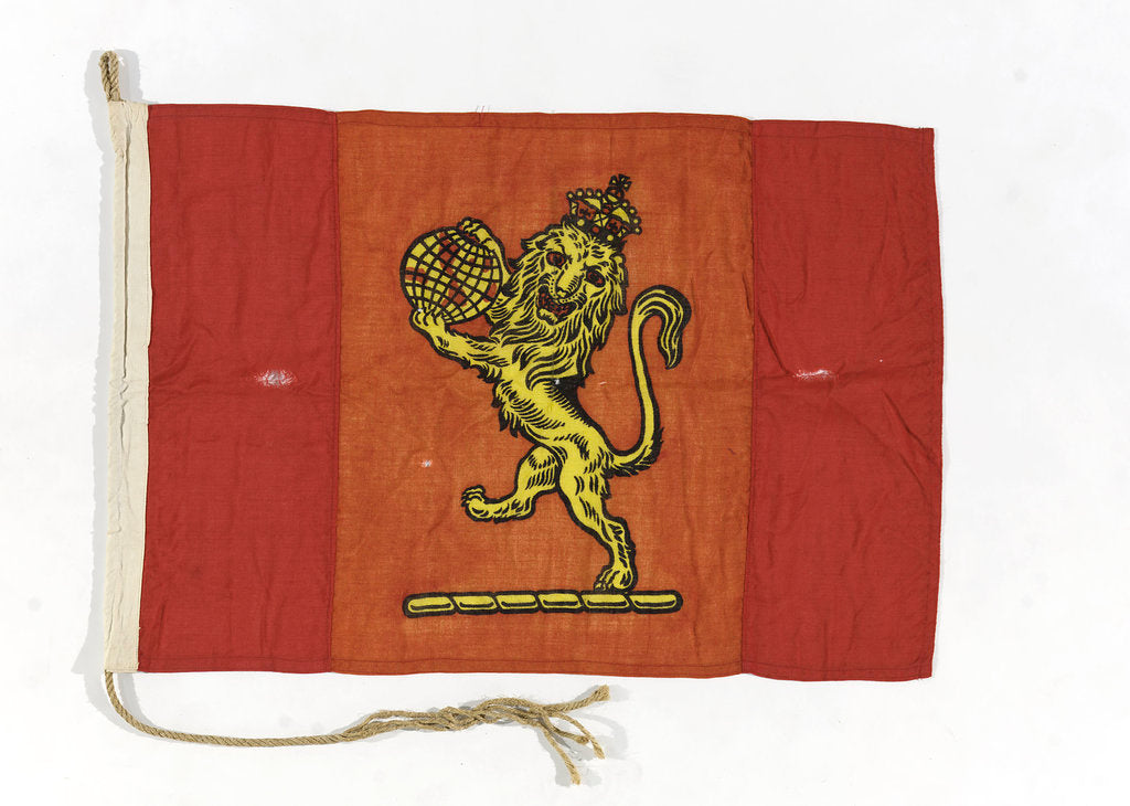 House flag, The Cunard Steamship Co. Ltd by unknown