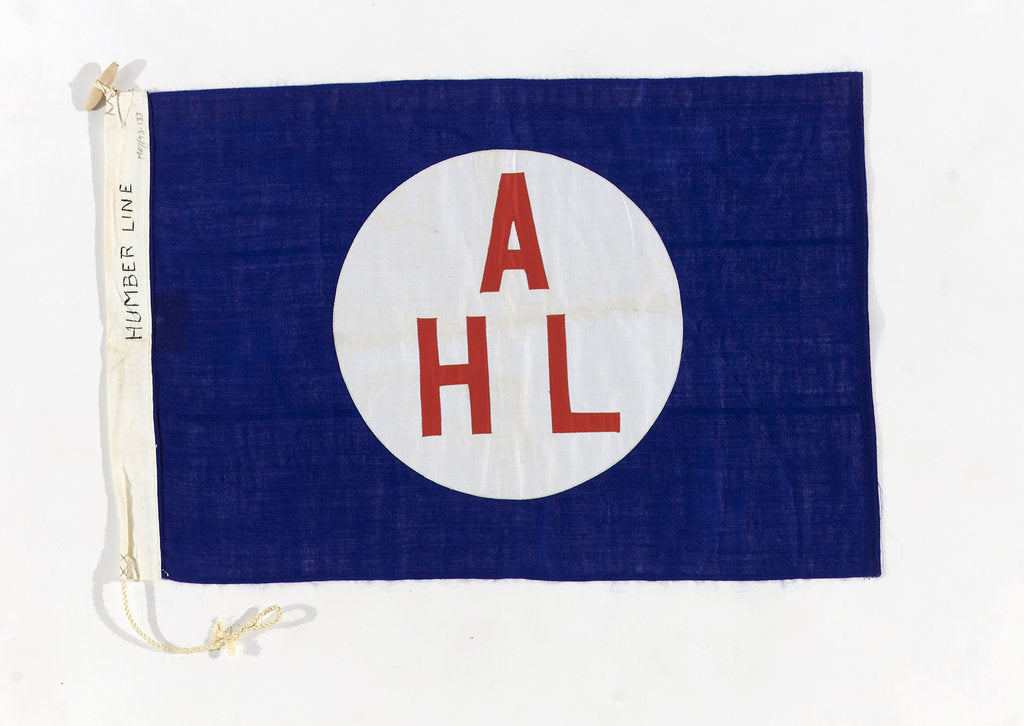 Detail of House flag, Humber Line by unknown