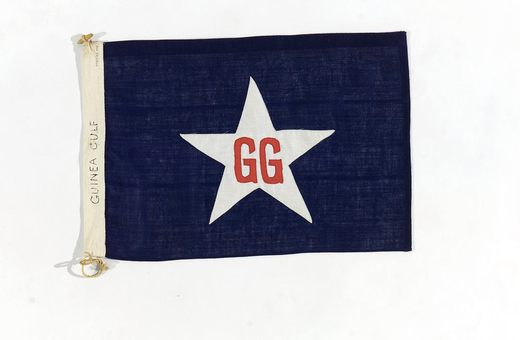 Detail of House flag, Guinea Gulf Line Ltd by unknown