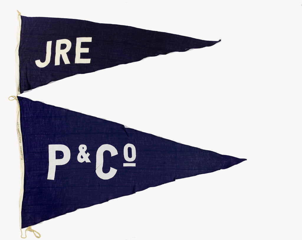Detail of House flag, Ellerman-Papayanni Line by unknown